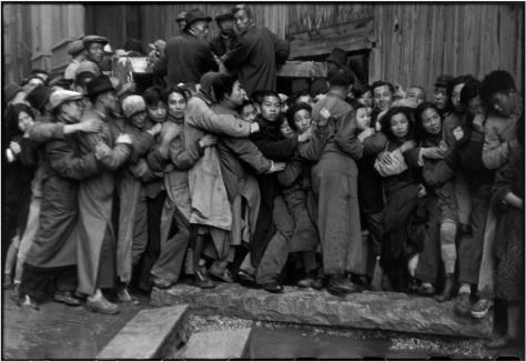 CHINA. Shangái. Diciembre de 1948-enero de 1949.
