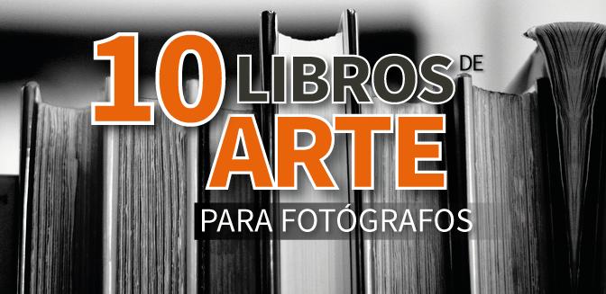 10 libros de arte para fotógrafos