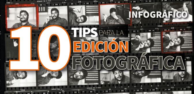 10 tips para la edición fotográfica