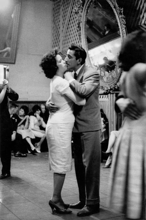 "CHILE. Valparaiso. Cafe ""Los Siete Espejos"". 1963."