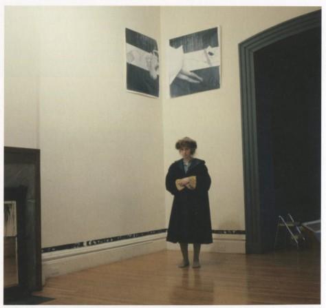 Francesca Woodman en la Galería Woods-Gerry en ela RISD (1978)