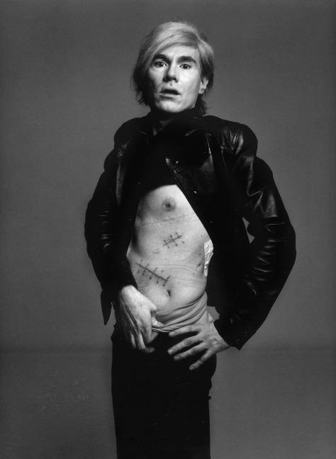 Richard Avedon. Andy Warhol.