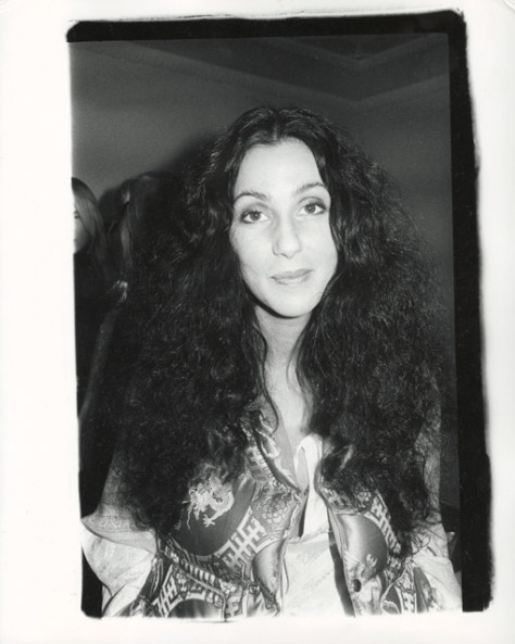 Andy Warhol. Cher.
