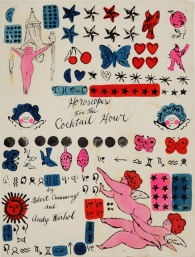 andy_warhol_horoscopes_cocktail-hour_1959