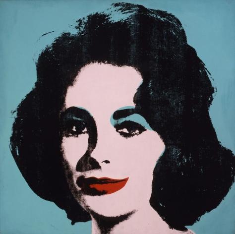 Andy Warhol. Liz Taylor