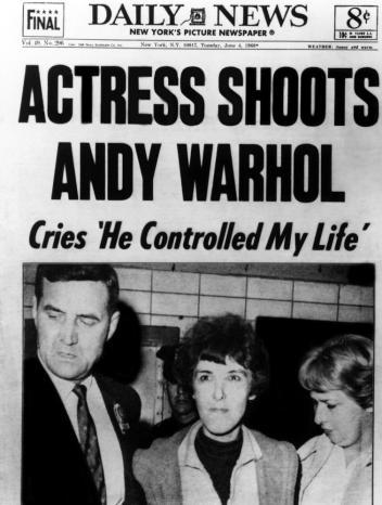 I SHOT ANDY WARHOL, Valerie Solanas (center), 1996, (c) Orion