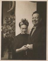 Fotografía por Nickolas Muray. Tizapán, Jalisco (1937) Diego Rivera y Frida Kahlo.