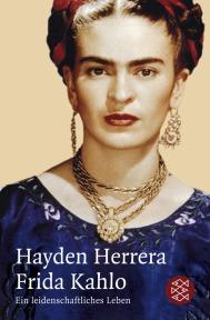 Edición alemana de la biografía de Frida Kahlo por Hayden Herrera