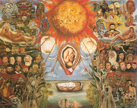 Moses, 1945 by Frida Kahlo
