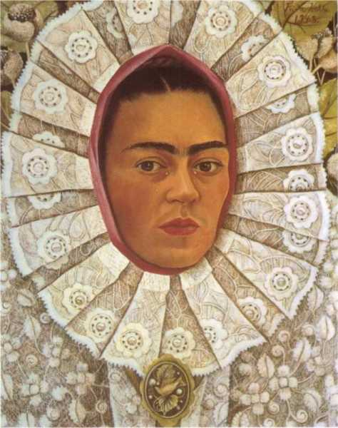 Self Portrait, 1948 by Frida Kahlo