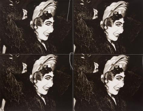 "Andy Warhol. De la serie ""Sewn Photographs"""