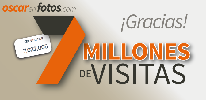 7 millones de visitas: ¡Graciaaaas!
