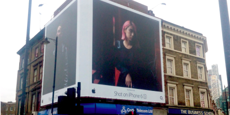 apple billboard