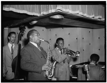 Charlie Parker y Miles Davis