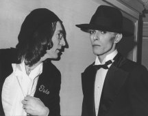 John Lennon y David Bowie