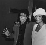 Michael Jackson y Whitney Houston