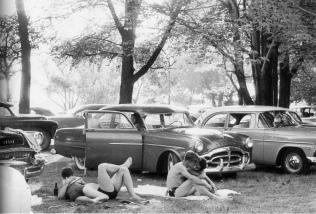Parque público. Ann Arbor, Michigan.