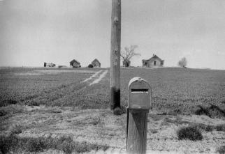 Carretera U.S. 30 entre Ogallala y North Platte, Nebraska.
