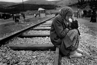MACEDONIA. Stankovik. Kosovan refugees. 1999.