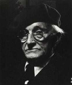 Retrato de August Sander