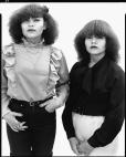 Myrna and Claudia Sandoval, El Paso, Texas, 1982
