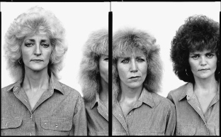 Loretta, Loudilla and Kay Johnson, Wild Horse, Colorado, 1983