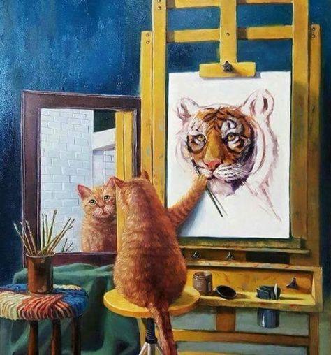 gato_autorretrato