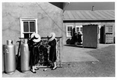 MEXICO. 1998. La Batea. Zacatecas. Mennonites.