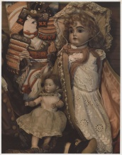 Marie Cosindas (b. 1925); Dolls; 1965; Dye diffusion print (Polaroid); Collection of the artist