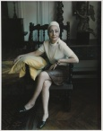 Marie Cosindas (b. 1925); Madame Gres; 1969; Dye diffusion print (Polaroid); Collection of the artist