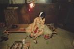 Trixie en un catre. New York City. 1979