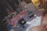 Autorretrato en la cama. New York City. 1981