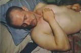 Kowald en su cama. New York City. 1984
