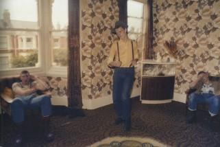 Skinhead baila. Londres, 1978