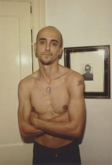 Bruce y su retrato. New York City, 1981