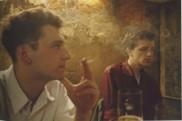 Dieter y Wolfgang en el O-Bar. berlín Occidental, 1984