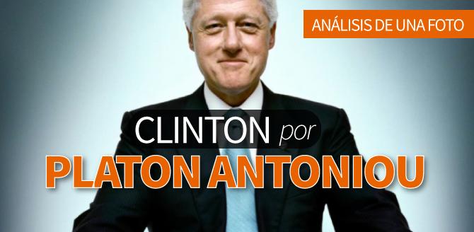 Análisis de una foto: Bill Clinton por Platon Antoniou