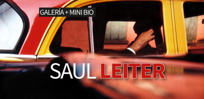 Saul Leiter: Galería + Mini Bio
