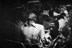 Going home: Marabastad-Waterval route: for most of the people in this bus, the cycle will start again tomorrow at between 2 and 3 am. 1984. David Goldblatt/Goodman Gallery