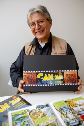 Sergio Padilla Gómez, creador de Cam-Man. Fotografía por Óscar Colorado.