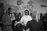 Wedding celebration for migrant workers from Anatolia, presently living in Tashtarla sector of Istanbul.
