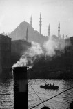 TURKEY. Istanbul. A view of the Golden Horn with the Suleymaniye Mosque built during the Ottoman empire. 1956.