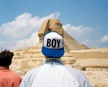 EGYPT. Giza. The Sphinx. 1992.