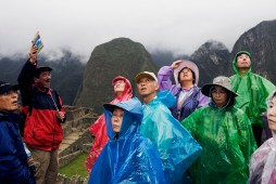 """PERU. Machu Picchu. An Inca site situated 2,400 meters (7,875 ft) above sea level. Often referred to as """"The Lost City of the Incas"""", Machu Picchu probably is the most familiar symbol of the Inca Empire. It is also one of the New Seven Wonders of the World. 2008."""