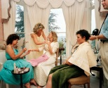 GB. England. Wedding preparations. From 'The Cost of Living'. 1986-89.