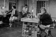 GB. England. West Yorkshire. Mythrolmroyd. Scarbottom. Redman's Factory. 1975