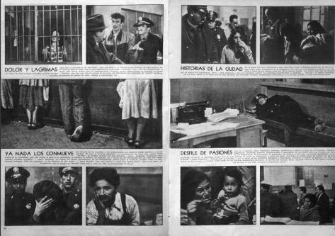 """Nacho López """"Sólo Los Humildes van Al Infierno,"""" Siempre!, 19 de junio de 1954."""