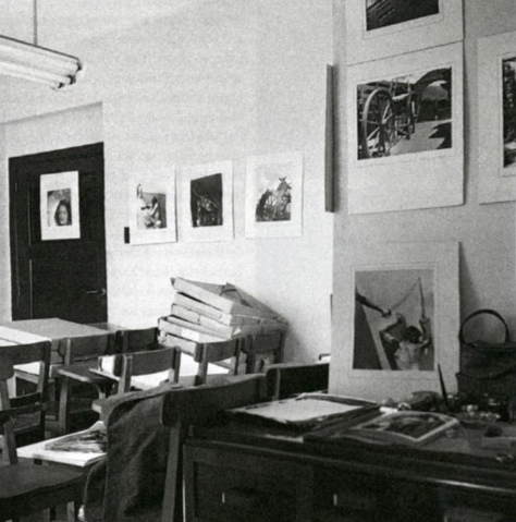 Salón donde daba clases Nacho López.