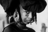 NIGER. Young Bororo girl. 1961.