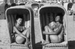 NETHERLANDS. Schveningen Zandvoort Beach. 1960.